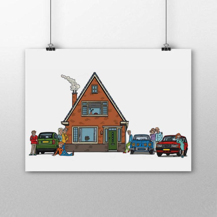 Fabriekshuys_Print_Poster_Huis_Auto