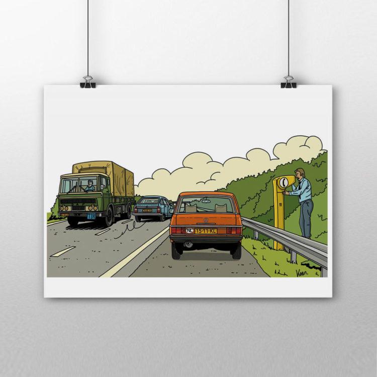 Fabriekshuys_Print_Poster_Praatpaal_Mercedes