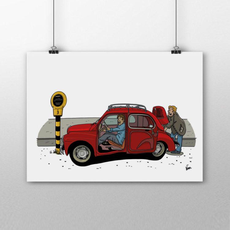 Fabriekshuys_Print_Poster_Praatpaal_Renault