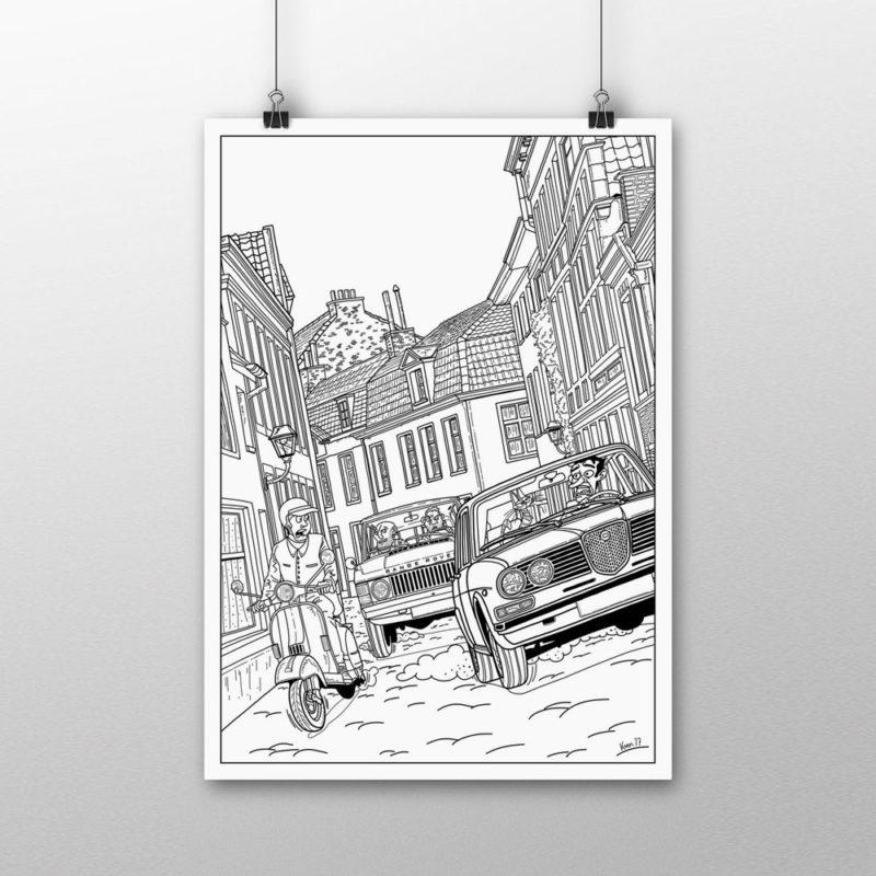 Fabriekshuys_Print_Poster_Strip_Pentekening