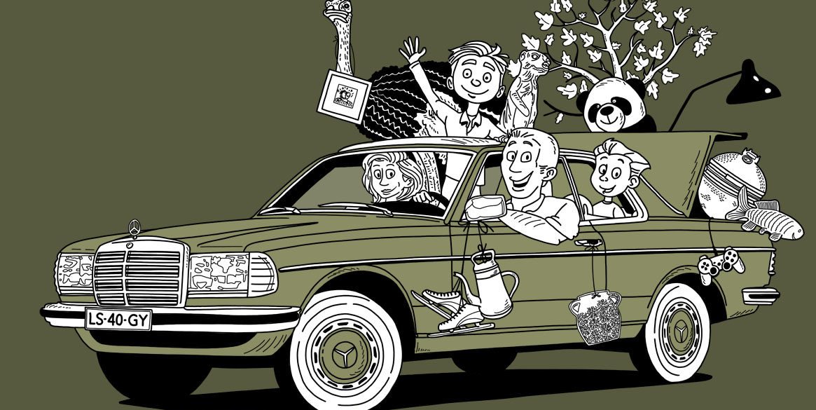 Fabriekshuys_Header_Mercedes_W123_Coupe_Cartoon_Web